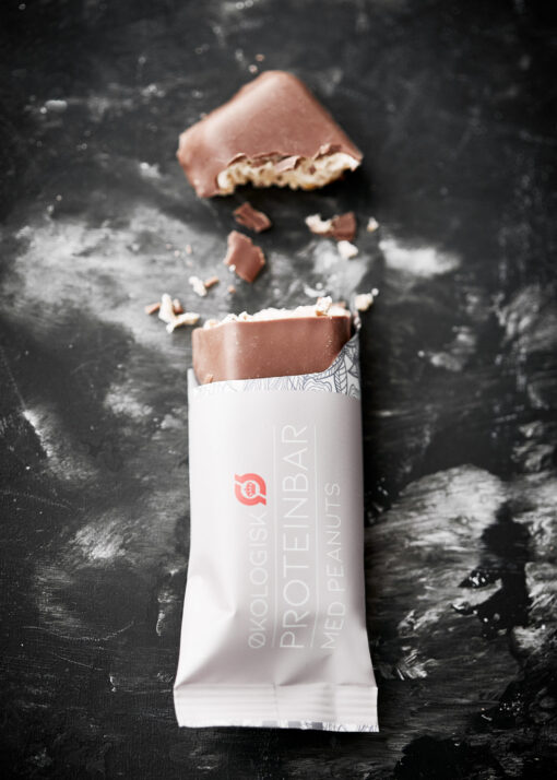 LinusPro Økologisk Proteinbar (Peanut, 55 g)