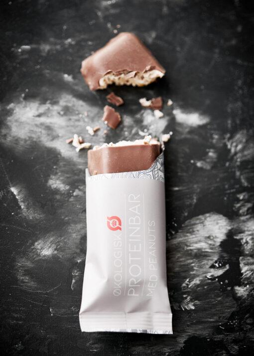 LinusPro Økologisk Proteinbar 9 stk. (Peanut, 55 g)