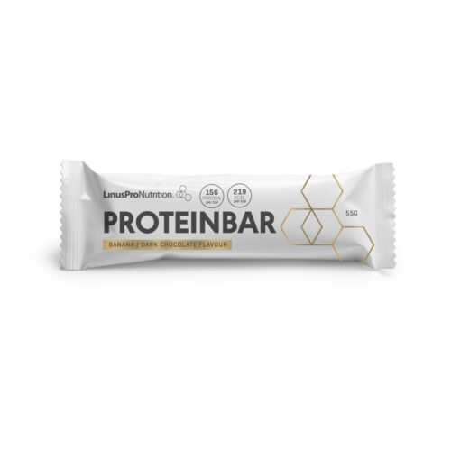 LinusPro Proteinbar (Banan, 55 g)