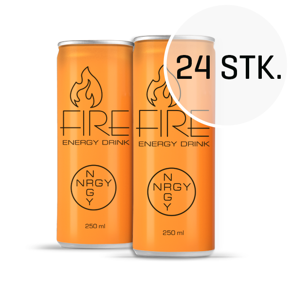 Image of   Fire Energy Drink 250 ml (24 stk.)