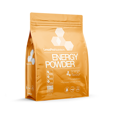 Image of   LinusPro Energy Powder (Appelsin, 1000 g)