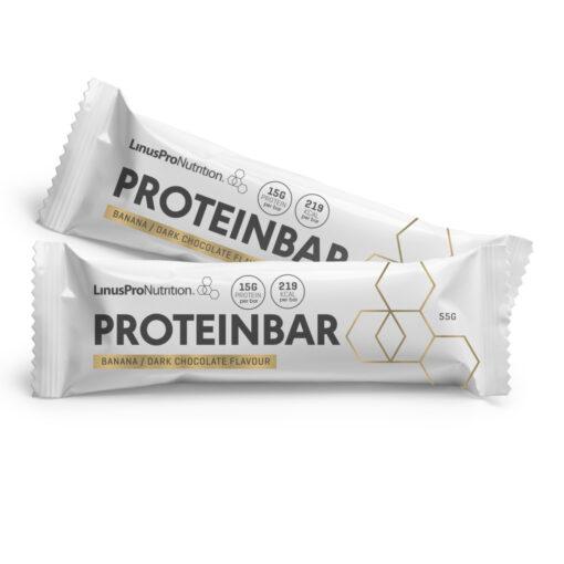 LinusPro Proteinbar 12 stk. (Banan, 55 g)