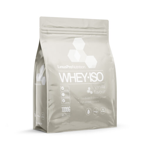 LinusPro WHEY ISO Proteinpulver (Vanilje, 1000 g)
