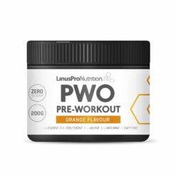 LinusPro PURE Pre-Workout (PWO) (Appelsin, 200 g)