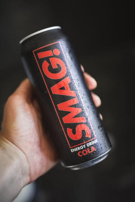 SMAG! Energy Cola 500 ml (24 stk.)