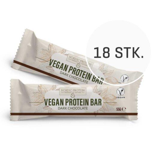 Nordic Protein Proteinbar 18 stk. (Chokolade, 55 g)