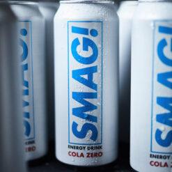 SMAG! Energy Cola Zero (500 ml, 24 stk.)