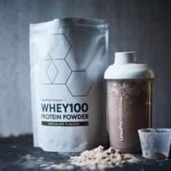 Pure WHEY100 Proteinpulver (Chokolade, 500 g)