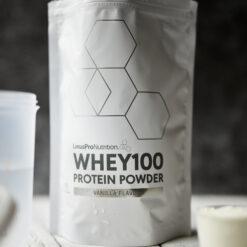 Pure WHEY100 Proteinpulver (Vanilje, 500 g)