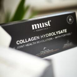 MUST Essentials® Collagen Hydrolysate med Fortigel® - sticks (150 gram)