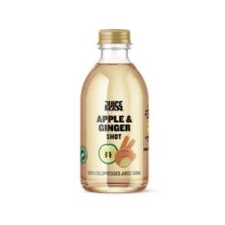 Juiceman økologisk shot (Apple/ginger, 60 ml.)