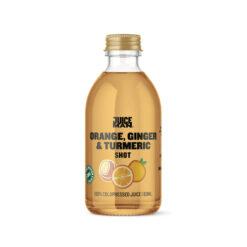 Juiceman økologisk shot (Orange/ginger/turmeric, 60 ml.)