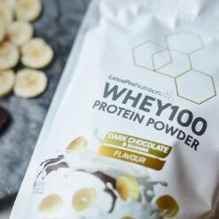 LinusPro PURE WHEY100 - Banana / Dark Chocolate (500 gram)