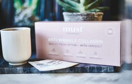 MUST Essentials® – Anti Wrinkle & Hydrolysate – sticks sampak (30 dage)