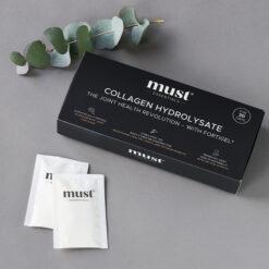 MUST Essentials® Collagen Hydrolysate med Fortigel® – sticks (150 gram)
