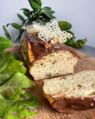 Luksus protein banankage med protein glasur