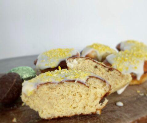 Protein citron muffins