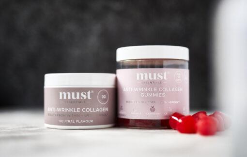 MUST Essentials® Anti-Wrinkle Collagen & Gummies – sampak