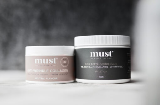 MUST Essentials® – Anti Wrinkle & Hydrolysate Collagen – sampak (30 dage)