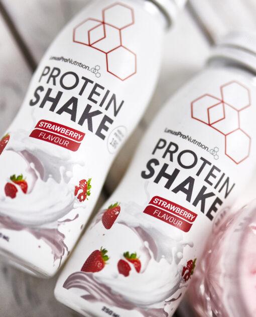 LinusPro Protein Shake 250 ml. Jordbær