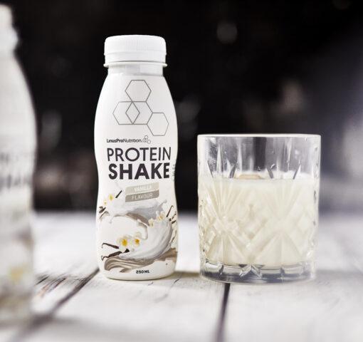 LinusPro Protein Shake 250 ml. Vanilje (12 stk)