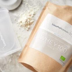 LinusPro Økologisk Proteinpulver (Vanilje, 500 g)