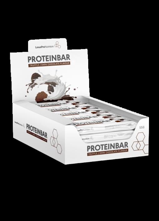 LinusPro Proteinbar 12 stk. (Trøffel, 55g)