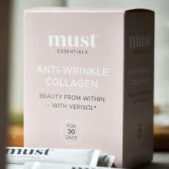 MUST Essentials® Anti-wrinkle collagen med Verisol® – sticks (75 gram)