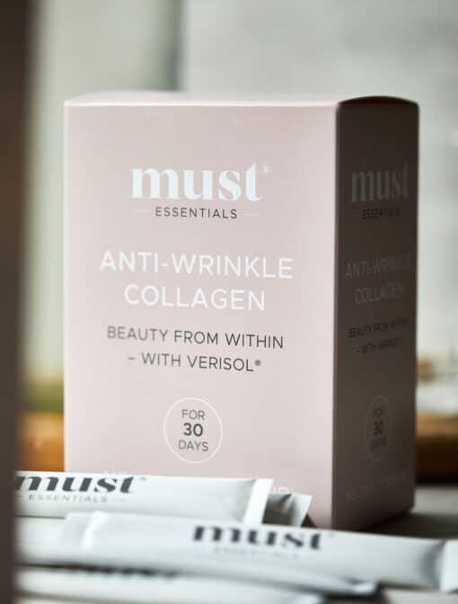 MUST Essentials® Anti-wrinkle kollagen med Verisol® – sticks (30 x 2,5 g)