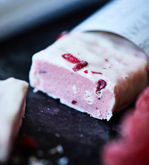 MUST Essentials Beauty Collagen Bar m. Verisol® – Hvid chokolade/hindbær (35 g, 24 stk.)