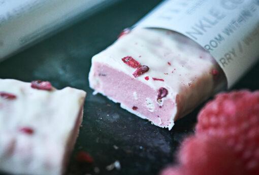 MUST Essentials Beauty Collagen Bar m. Verisol® – Hvid chokolade/hindbær (35 g)