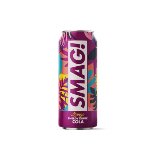 SMAG! Energy Mango Cola (500 ml, 24 stk.)