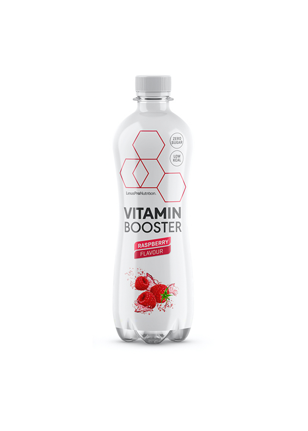 Køb LinusPro Vitamin Booster (Hindbær, 500 ml  –  12 stk.)